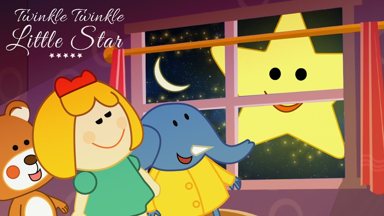 Twinkle Twinkle Little Star Rhyming Song With Story & Actions for  Children's - Lattu Kids