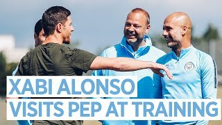 XABI ALONSO MEETS PEP | TRAINING
