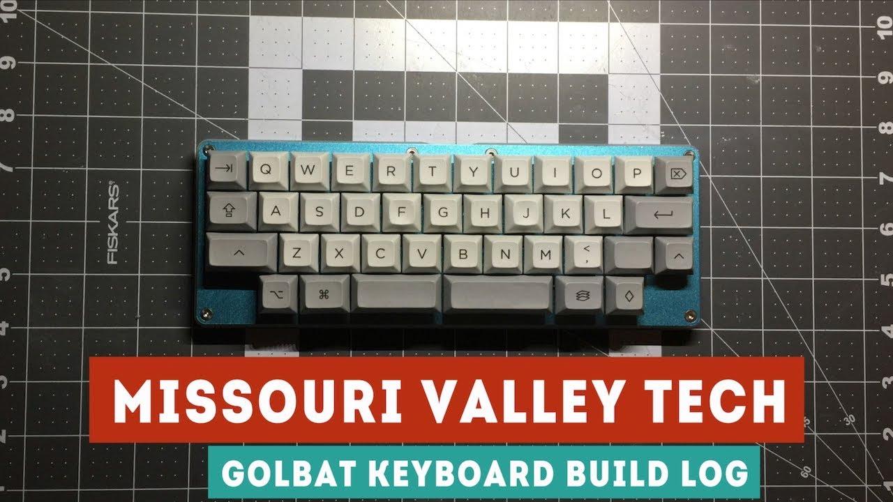 Golbat 40% Mechanical Keyboard Build Log