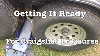 Car Hauler Trailer Wheel Bearing Adjustment And Grease