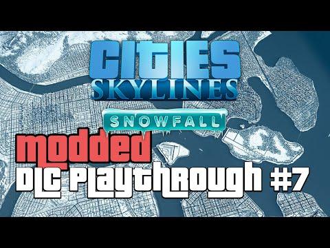 Cities Skylines Snowfall DLC Modded 7 |