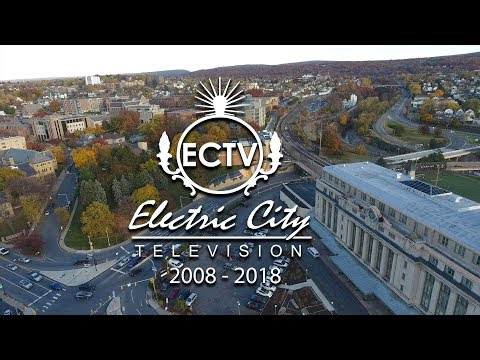 ECTV 2008 - 2018 Drone over Scranton The Electric City