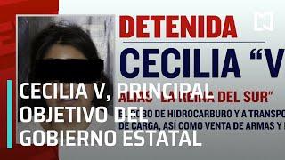 """Detienen a Cecilia V, alias """"La Reina del Sur"""", Puebla - Sábados de Foro"""