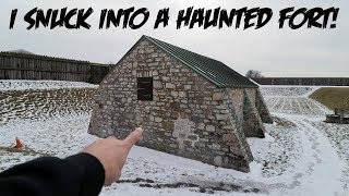 I SNUCK INTO A HAUNTED FORT 😱 | The Sargi Family