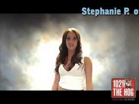 102.9 THE HOG's 2008 ROCK GIRL Search - Stephanie P.