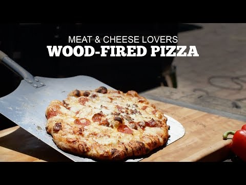 Wood-Fired Pizza | Meat & Cheese Lovers | Green Mountain Pellet Grills