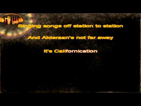 Red Hot Chili Peppers - Californication karaoke