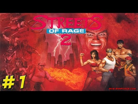 Genesis: Streets of Rage 2! Part 1 - YoVideogames