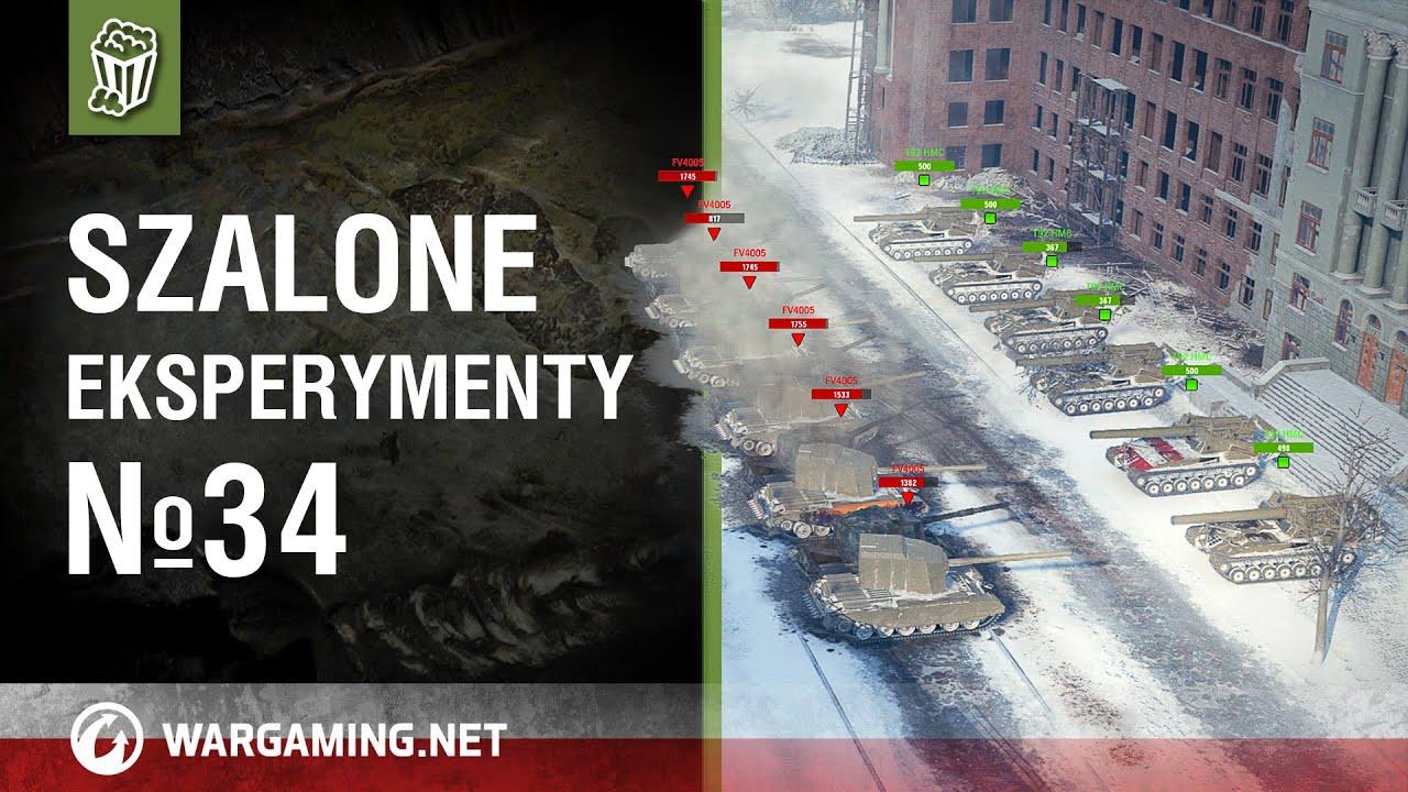 Szalone eksperymenty №34 [WoT Polska]