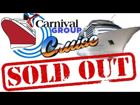 Group CRUISE News: SOLD OUT!