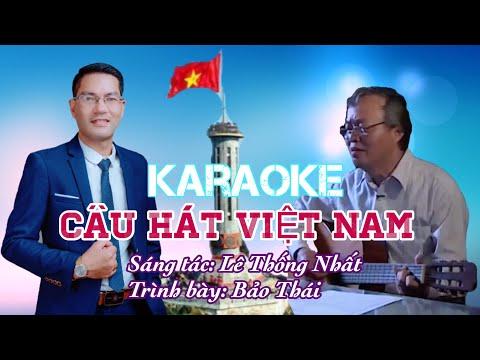 KARAOKE Câu Hát Việt Nam I Phòng Thu Bảo Thái