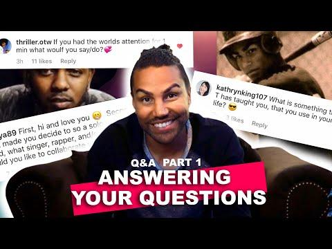 TJ Jackson - My First Q&A