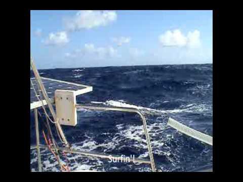 Sailing the Atlantic Ocean single-handed