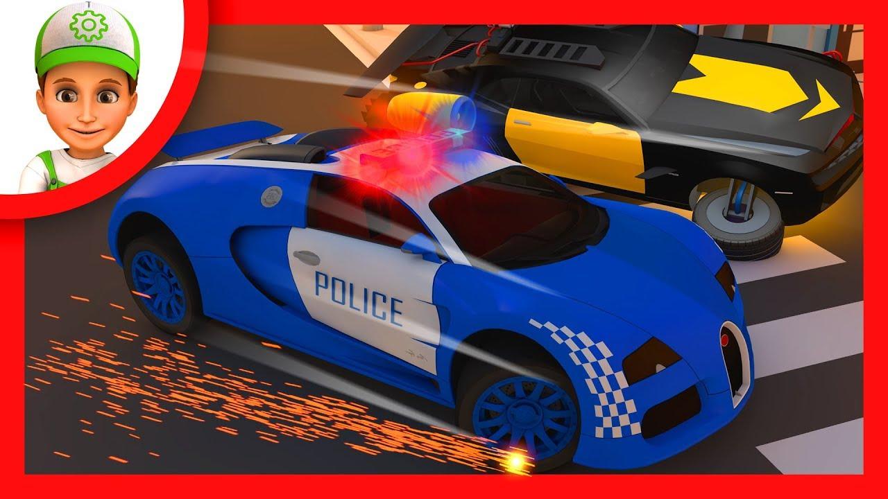 Вулкан Клуб Играть за Деньги | Мультфильм, где Винтик и Полицейские Машины Ловят