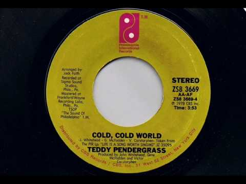Teddy Pendergrass - Cold, Cold World