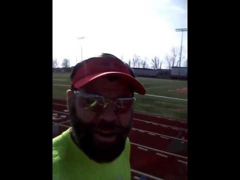 Lakota West High School track in Ohio