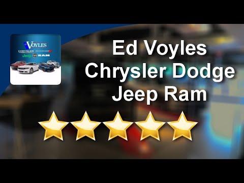 Ed Voyles Chrysler Dodge Jeep Ram Marietta 5 Star Review By Brian Stewart
