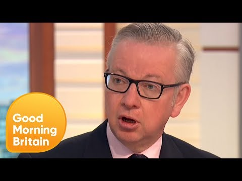 Piers Challenges Michael Gove on Tower Block Fire Safety   Good Morning Britain