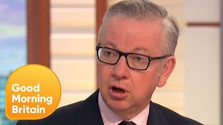 Piers Challenges Michael Gove on Tower Block Fire Safety | Good Morning Britain