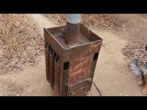 видео: Печь для бани