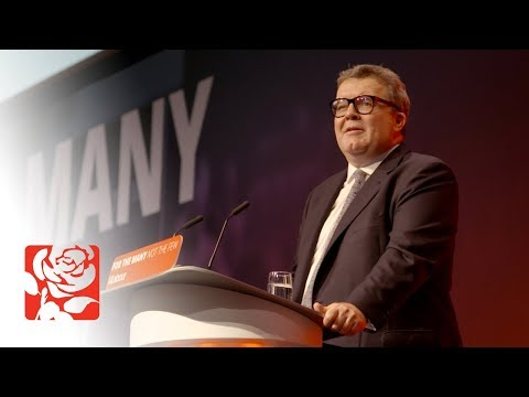 Tom Watson's Speech to Labour Conference