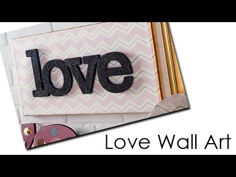 sc 1 st  YouTube & Mod Podge Wall Art Tutorial with Cathie and Steve - YouTube