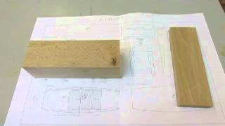 Making A Wooden Coffin Smoother Bench Plane - Step 1
