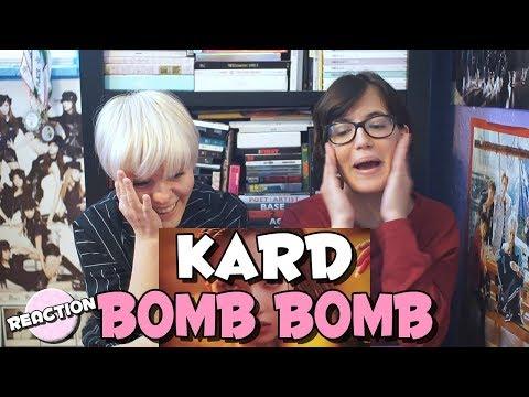 KARD - BOMB BOMB 밤밤 ★ MV REACTION