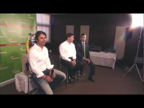 Martín Vázquez y Alkorta con La Energía de La Roja