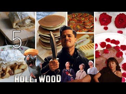 TOP 5 RECETAS DE CINE | Mis mejores platos de películas 🎬