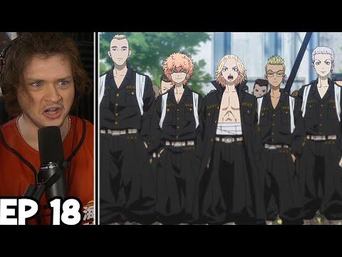 "TOMAN VS VALHALLA!! || ""Open Fire"" ||Tokyo Revengers Episode 18 Reaction"