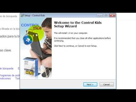CONTROL PARENTAL CON SAFE SEARCH Y SOFTWARE CONTROL KIDS
