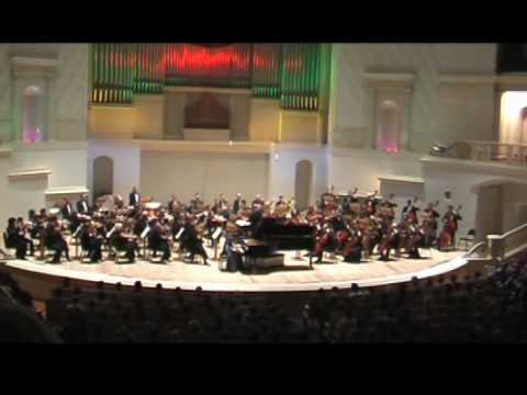 Shorena Tsintsabadze plays Rachmaninoff Piano Concerto No.2 Part I