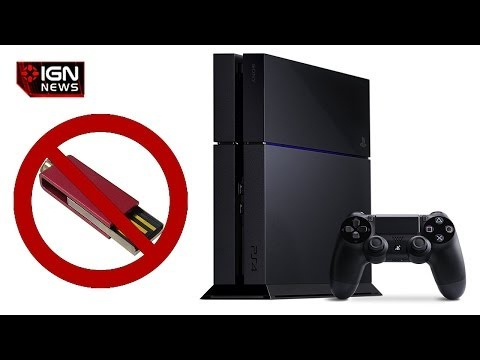 IGN News - PS4 Does Not Support External Hard Drives