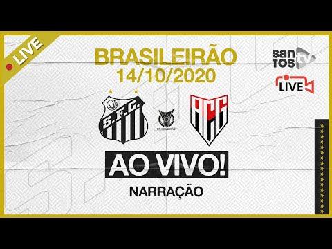 🔴 AO VIVO: SANTOS 0 x 1 ATLÉTICO-GO | BRASILEIRÃO (14/10/20)
