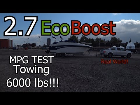 2.7 EcoBoost Towing MPG Test!