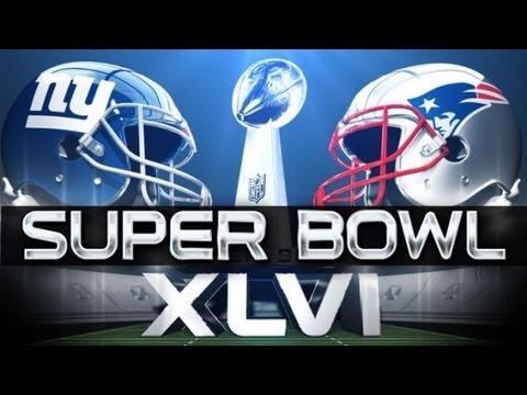 NFL: Super Bowl XLVI (Superbowl 46) Indianapolis 2012 -- Manning