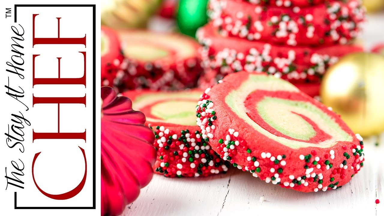 How To Make Spiral Christmas Sugar Cookies The Stay At Home Chef