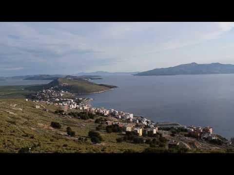 Albania - Saranda - widok z Zamku Lekuresi - Albańska Przygoda