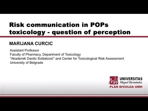 Risk Communication In POPs Toxicology - Question Of Perception