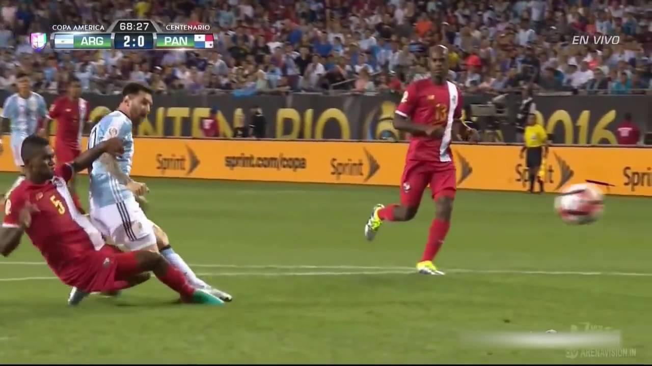 Аргентина - Панама 5:0 видео