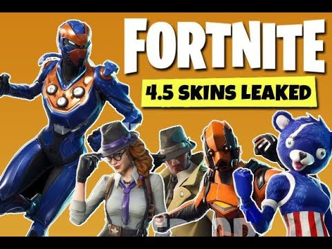 Fortnite Patch 5.4 INFO!!! (NEW SKINS)