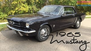 My 1965 Mustang Coupe  | First Look, Walkaround, Quick Drive