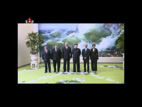 Kim Jong Un receives cuban delegation