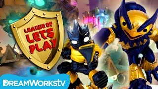 Skylanders Superchargers Legendary Astroblast & More! | LEAGUE OF LET'S PLAY