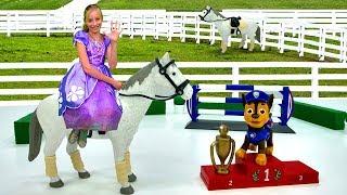 София Прекрасная - Видео для девочек - Софии подарили лошадь