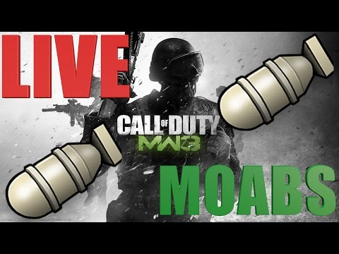 MW3 4 Moabs This Stream SO MANY HACKERS W/ Enemy MCLA