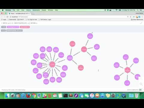 FOIA Social Network Prototype Using Neo4J