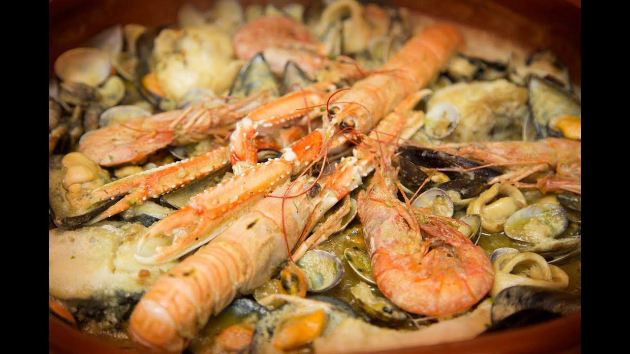 Auténtica Zarzuela De Pescado Y Marisco Receta Cocina Youtube