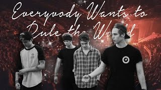 5 seconds of summer everybody wants to rule the world